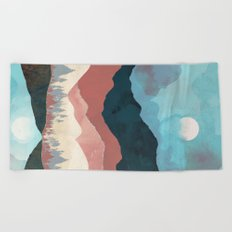 Fall Transition Beach Towel