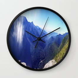 Old Man's View Wall Clock