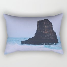Blue barriers Rectangular Pillow