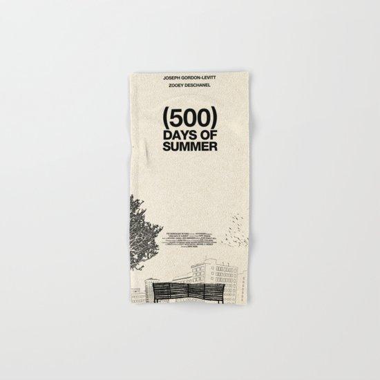 (500) Days of Summer Hand & Bath Towel