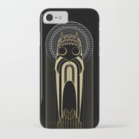 art deco iPhone & iPod Cases featuring Art Deco by Mrs.Kirki