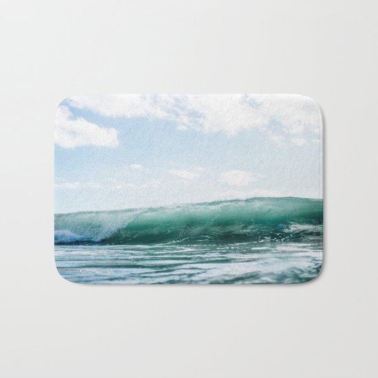 The Ocean Calms My Restless Soul Bath Mat