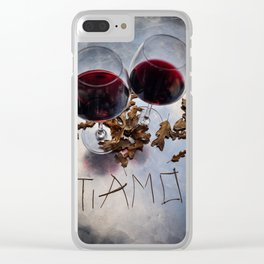 Ti Amo Clear iPhone Case