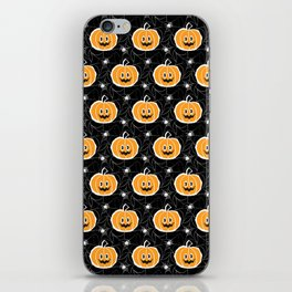 Happy Pumpkin - Pattern iPhone Skin