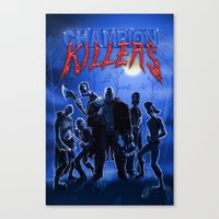 studio killers Canvas Prints featuring Champion Killers - The Killers by Cazzbot
