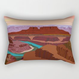 Magnificent Canyonlands National Park, Utah Rectangular Pillow