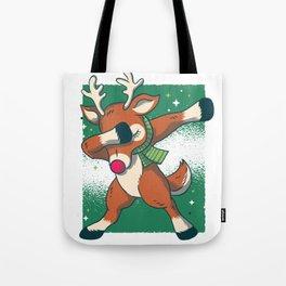 Reindeer Dab Tote Bag