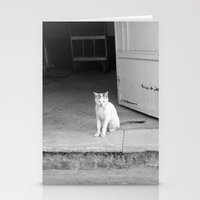 arab Stationery Cards featuring Arab kitty by Raleigh Tillman