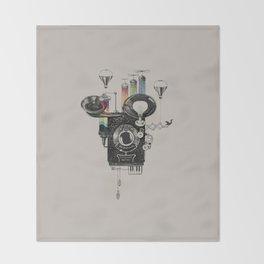 Dream Camera Throw Blanket