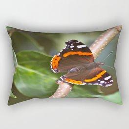 Admiral On The Apple Tree Branch #decor #society6 Rectangular Pillow