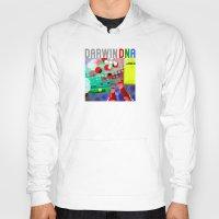 darwin Hoodies featuring DARWIN DNA by DARWIN STEAD