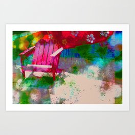Waiting For You Art Print