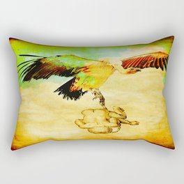 The stork was not available this day Rectangular Pillow