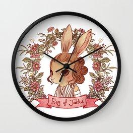 Reylo Bunnies - Reybbit Wall Clock