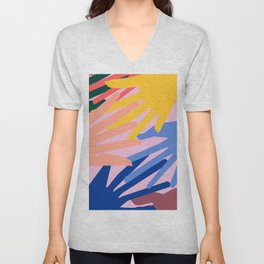 Global Hands 2 Unisex V-Neck