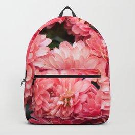 Autumn Kiss Chrysanthemums #1 #floral #art #Society6 Backpack