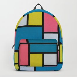 Mondrian in Motion Backpack