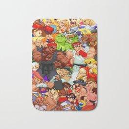 Street Fighter Alpha - Fight! Bath Mat