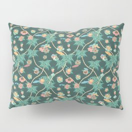 Tropical nights with cocktail pattern Pillow Sham