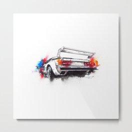 BMW M1 ProCar  Metal Print