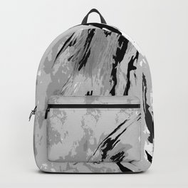 HORSE BLACK AND WHITE Backpack