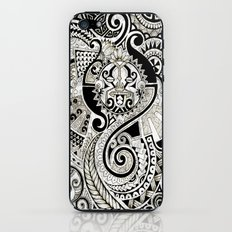 Maori tribal design iPhone & iPod Skin