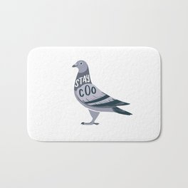 Stay Cool Pigeon Bath Mat