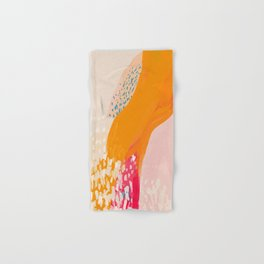 The Abstract Shape Of Spring Hand & Bath Towel