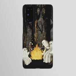 Marshmallows and ghost stories Android Case