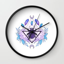 Scarab Queen Wall Clock