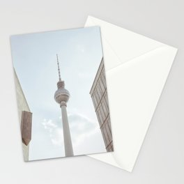 Berlin TV tower Stationery Cards