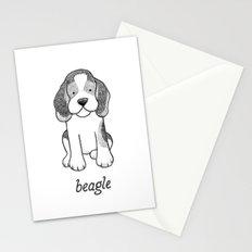 Dog Breeds: Beagle Stationery Cards