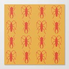 Beetle Grid V3 Canvas Print
