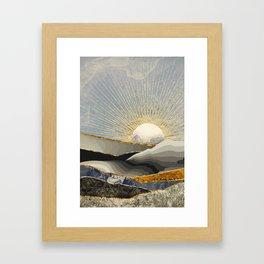 Morning Sun Gerahmter Kunstdruck