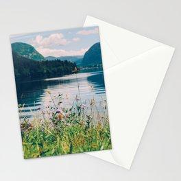 Lake Bohinj in Slovenia, 1 Stationery Cards