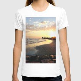 Sunset in Galveston T-shirt