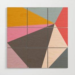 Abstract 09 Wood Wall Art