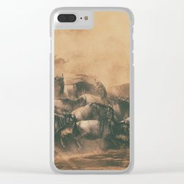 Wild Life in a Hurry Clear iPhone Case
