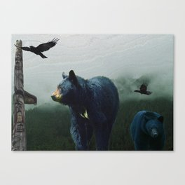 The Sacred Trail of the Great Bear Canvas Print