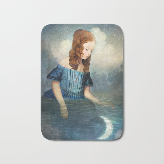 Drowned Moon Bath Mat
