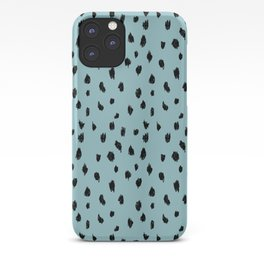 Seeing Spots in Robins Egg iPhone Case