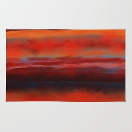Sunset Inferno Rug