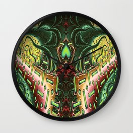 Marooned Symmetrical Abstract Wall Clock