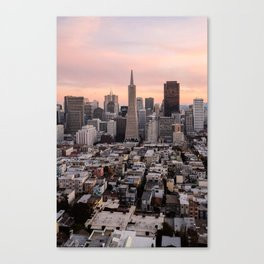 San Francisco - Financial District Canvas Print
