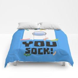You Sock Funny Slogan Comforters