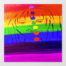 Unbalanced Chakra Canvas Print