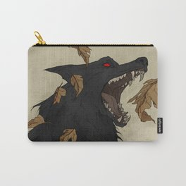 Black Shuck I Carry-All Pouch