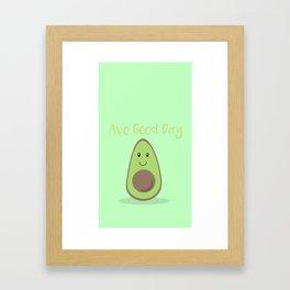 Avo Good Day Framed Art Print