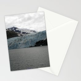 TEXTURES -- A Face of Portage Glacier Stationery Cards