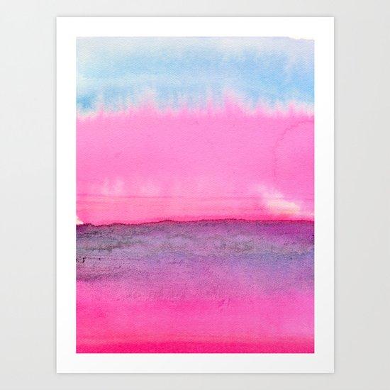 Abstract Landscape 90 Art Print